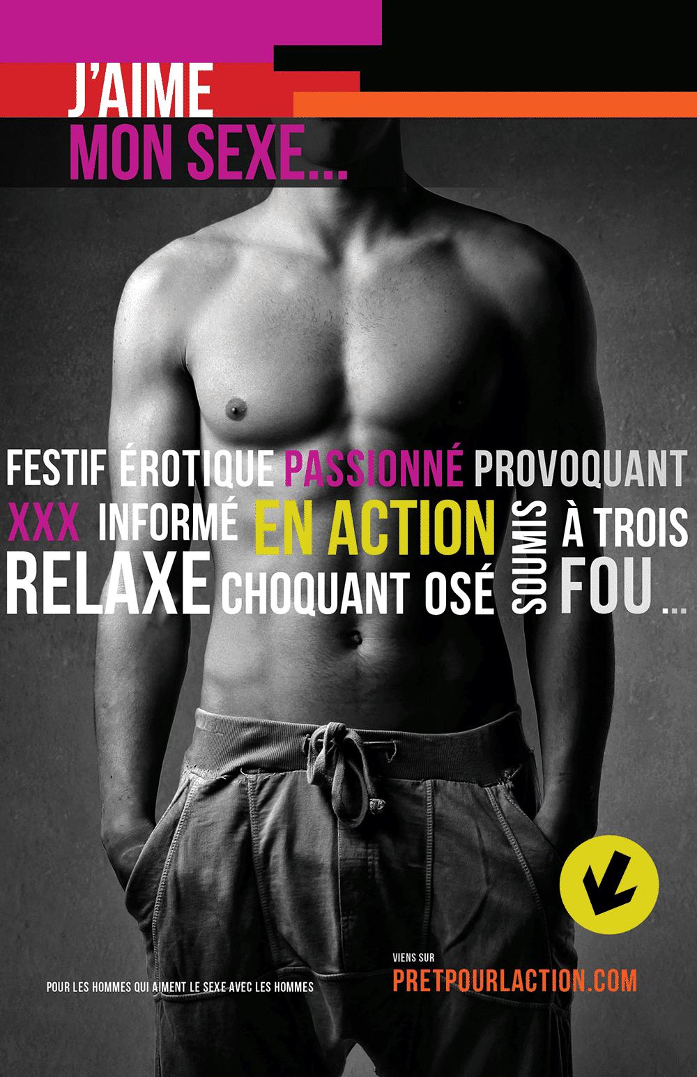 Campagne Pret pour l'action COCQ-sida